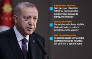 Cumhurbaşkanı Erdoğan: NATO'nun kendini güncellemesi...