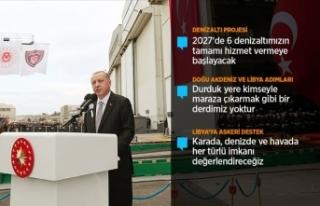 Cumhurbaşkanı Erdoğan: Türkiye attığı adımlardan...