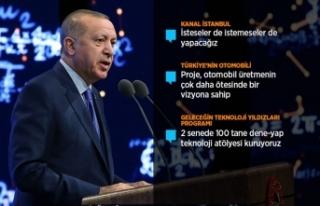Cumhurbaşkanı Erdoğan: Türkiye'nin otomobili...
