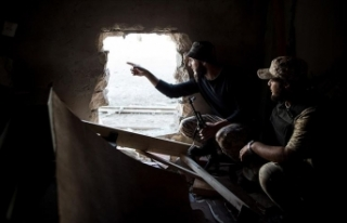 Hafter milislerinin Sirte kentindeki saldırısında...