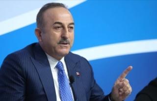 """Bakan Çavuşoğlu: """"Cezayir ile Libya krizinde..."""