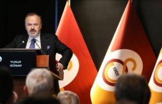 Galatasaray Kulübü Başkan Yardımcısı Yusuf Günay'dan...
