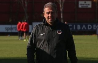 Gençlerbirliği Teknik Direktörü Hamzaoğlu: Daha...
