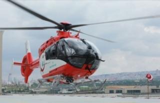 'Helikopter ambulanslar 2008'den bu yana...