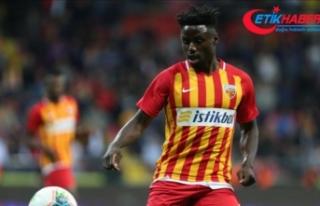 Kayserispor'da Georges Ntep, sözleşmesini tek...