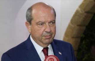 KKTC Başbakanı Tatar: Rum yönetiminin Hafter ile...