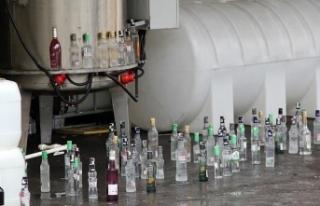 Malatya'da 6 ton sahte rakı ele geçirildi