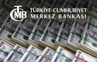 Merkez Bankası rezervleri 105 milyar 869 milyon dolar...