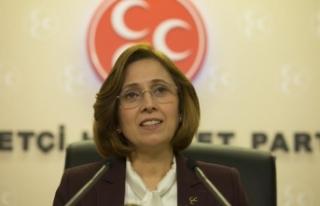"""MHP'li DEPBOYLU'dan """"Türk Kadınına..."""
