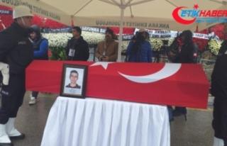Şehit Özel Harekat polisi Coşkun Elber son yolculuğuna...