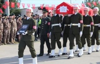 Şehit uzman onbaşı Harun Çınar'ın cenazesi...