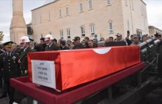 Silah kazasında şehit olan asker Adıyaman'da...