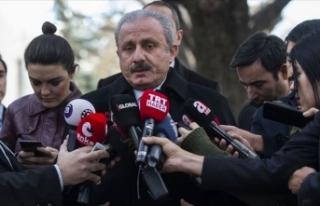 TBMM Başkanı Şentop: Libya ile mutabakat birçok...
