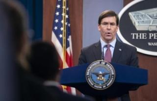 "ABD Savunma Bakanı Esper: ""ABD, İran'la başlayan..."