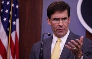 ABD Savunma Bakanı Esper, Irak'tan çekilmeyeceklerini...