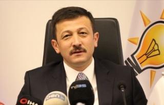 AK Parti Genel Başkan Yardımcısı Dağ'dan...