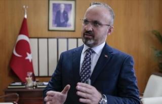 AK Parti Grup Başkanvekili Turan: Avrupa Parlamentosunda...