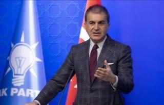 AK Parti Sözcüsü Çelik: Filistin halkının taleplerinin...