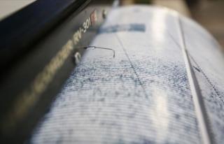 Akdeniz'de 5,4 büyüklüğünde deprem meydana...