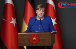 Almanya Başbakanı Merkel: İdlib'ten kaçanlar...
