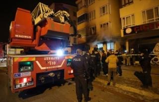 Ankara'da 4 kişinin hayatını kaybettiği yangın...