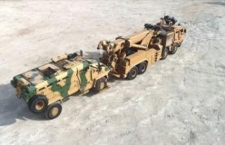 Askeri araçların 46 tonluk kurtarıcısı M4K zorlu...