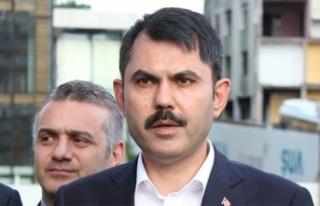 Bakan Kurum'dan Elazığ, Malatya ve Diyarbakır'daki...