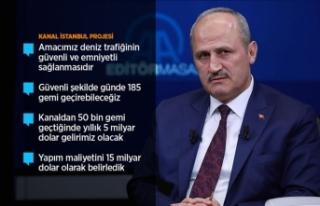 Bakan Turhan: Kanal İstanbul Projesi'ni 2026...