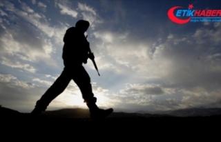 Barış Pınarı Harekat Bölgesi'nde 4 asker...