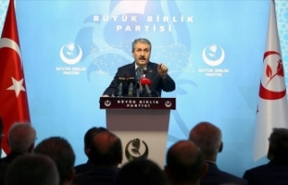 BBP Genel Başkanı Destici: Artık Suriye'de...