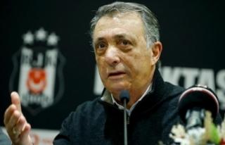 Beşiktaş Başkanı Çebi'den Fikret Orman'a...