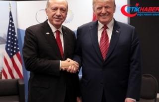 """Beyaz Saray: """"Erdoğan-Trump görüşmesinde Suriye..."""