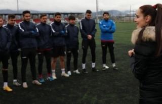 Bolu'da, 3 çocuk annesi iş kadını, futbol...