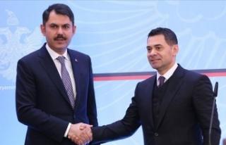 Çevre ve Şehircilik Bakanı Kurum: Arnavutluk'ta...