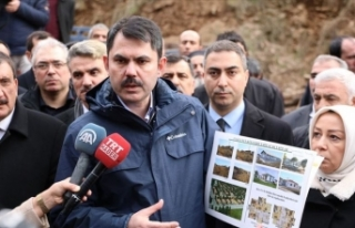 Çevre ve Şehircilik Bakanı Kurum: Hasarın çok...