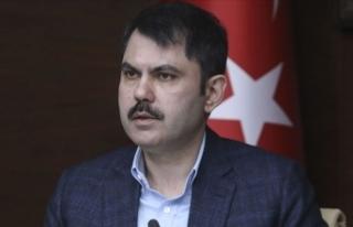 Çevre ve Şehircilik Bakanı Kurum: Hasarlı konutları...