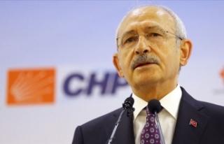 CHP Genel Başkanı Kılıçdaroğlu'ndan Rauf...