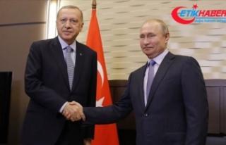Cumhurbaşkanı Erdoğan ile Putin, Libya ve Suriye...