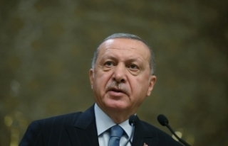 Cumhurbaşkanı Erdoğan, AB Konseyi Başkanı Michel'i...