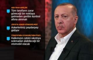Cumhurbaşkanı Erdoğan: ABD-İran gerginliğinin...