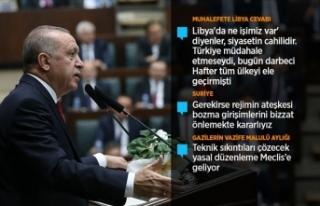 Cumhurbaşkanı Erdoğan: Hafter'e hak ettiği...