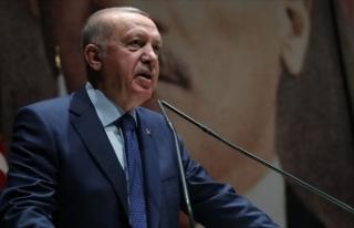Cumhurbaşkanı Erdoğan: Tüm kurum ve kuruluşlarımızla...