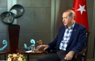 Cumhurbaşkanı Erdoğan: Türkiye'nin yeni bir...