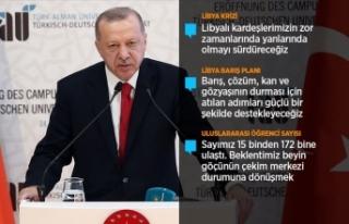 Cumhurbaşkanı Erdoğan: Uluslararası toplumun Suriye'de...