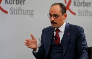 Cumhurbaşkanlığı Sözcüsü Kalın: Libya'da...