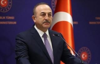 Dışişleri Bakanı Çavuşoğlu'ndan Türk...