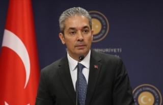 Dışişleri Bakanlığı Sözcüsü Aksoy'dan...