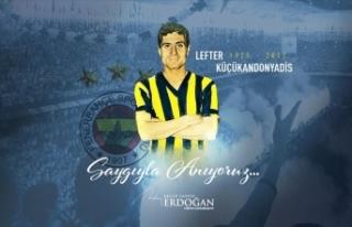 Erdoğan, vefatının yıl dönümünde 'Lefter...