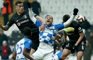 Erzurumspor, Beşiktaş'ı kupanın dışına...