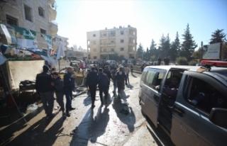 Esed rejiminin İdlib'e hava saldırılarında...